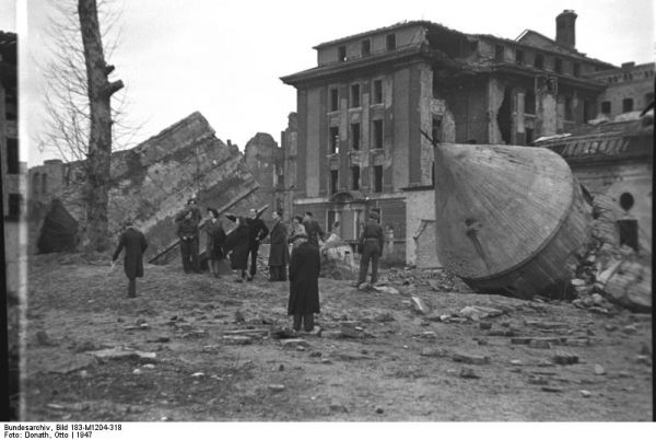 Der Führerbunker after the war
