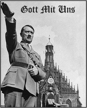 "And because JoShers don't understand German, Gott Mit Uns means ""God With Us""."