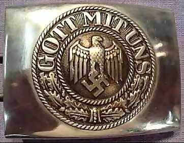 "The SS's belt buckle, part of their uniform... ""GOD WITH US"""